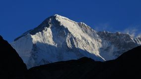 Majestic peak of Cho Oyu Stock Photography