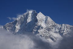Majestic Peak of Thamserku Royalty Free Stock Image