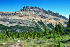 Majestic peaks in Helen lake trail Stock Images