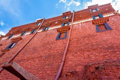 Potala Palace, Lhasa, China Tibet. Majestic Potala Palace during spring in Lhasa, Nepal, Tibet, China Royalty Free Stock Images