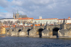 Majestic Prague Royalty Free Stock Image