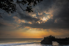 Majestic ray of lights in Bali Stock Photography