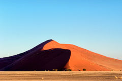 The majestic red dune Royalty Free Stock Photography