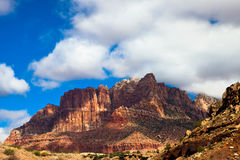 Majestic Red Mountain Royalty Free Stock Images