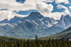 Majestic Rocky Mountains by Canmore Stock Images