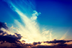 Majestic sky Royalty Free Stock Photography