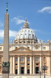 Majestic St. Peter's Basilica in Rome, Vatican, Italy Stock Photos