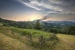 Majestic sunset Stock Photography