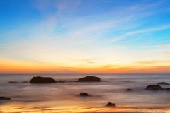 Free Majestic Sunset Over Water. Royalty Free Stock Image - 104949246