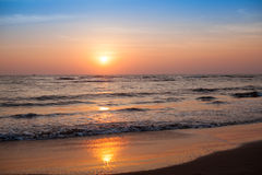 Free Majestic Sunset Over Water Stock Photo - 50603470