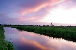 Majestic sunset Stock Image