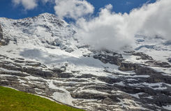 Majestic Swiss Alps Stock Images