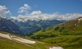 Majestic Swiss Alps Royalty Free Stock Image