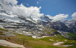 Majestic Swiss Alps Royalty Free Stock Photos