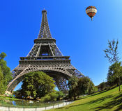 The majestic symbol of Paris - Eiffel Tower Royalty Free Stock Photo