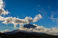 Majestic Teide Royalty Free Stock Photo