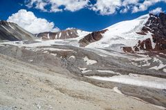Majestic Tien Shan mountains Stock Image