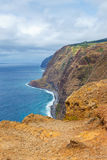 Majestic view of the cliffs, Madeira. Portugal stock photo