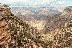 Majestic View at Grand Canyon. South Rim, Arizona royalty free stock photography