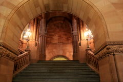 Majestic view of The Grand Staircase,Albany State Capitol,Albany,New York,2015 Royalty Free Stock Photography
