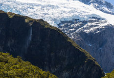 Majestic view of Rob Roy Glacier Royalty Free Stock Image