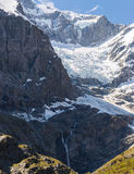 Majestic view of Rob Roy Glacier Royalty Free Stock Photography