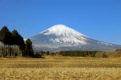 Majestic views of Mount Fuji, Japan Royalty Free Stock Images