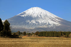 Majestic views of Mount Fuji, Japan Royalty Free Stock Photography