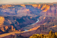 Majestic Vista of the Grand Canyon Royalty Free Stock Image