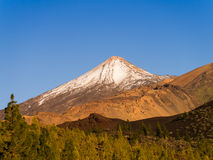 Majestic Volcano Teide Stock Photo