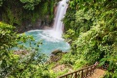 Waterfall in Costa Rica Stock Photo