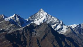 Majestic Weisshorn Stock Images