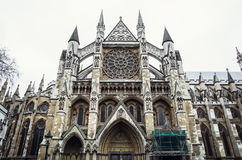 Majestic Westminster Abbey Stock Photo