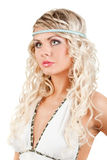 Majestic woman portrait Stock Images