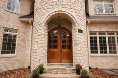 Majestoso construído recentemente para casa fotos de stock royalty free