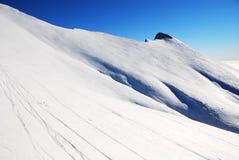 Majestueus de winterlandschap stock afbeeldingen