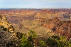 Majestueus Grand Canyon, Arizona, Verenigde Staten Royalty-vrije Stock Afbeelding