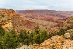 Majestueus Grand Canyon, Arizona, Verenigde Staten royalty-vrije stock fotografie