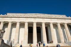 Majestueus Lincoln Memorial, Washington D C, royalty-vrije stock afbeeldingen