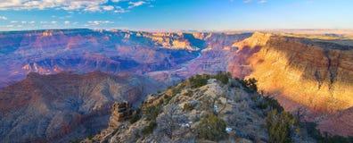 Majestueus Uitzicht van Grand Canyon Royalty-vrije Stock Afbeeldingen