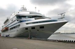 Majestueus wit schip royalty-vrije stock foto's