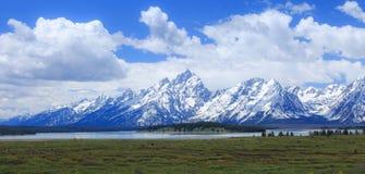 Majestueuze bergen Stock Fotografie