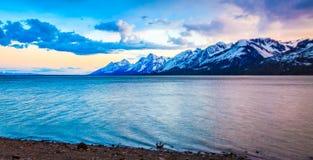 Majestueuze bergen Stock Foto