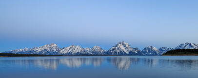 Majestueuze bergen Stock Afbeeldingen