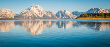 Majestueuze bergen Stock Foto's