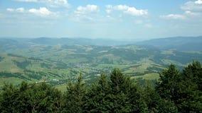 Majestueuze bergen Verbazend beeld stock footage
