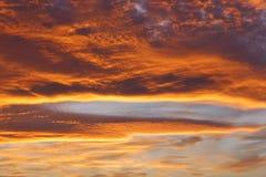 Majestueuze zonsopgang Royalty-vrije Stock Afbeeldingen