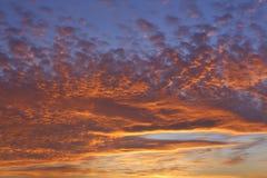 Majestueuze zonsopgang Royalty-vrije Stock Afbeelding