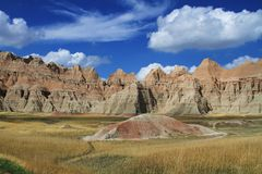 The Majesty Of Badlands Stock Photos