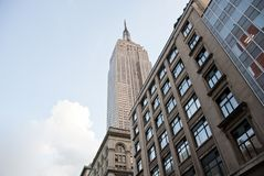 Majesty of the Empire State Building Royalty Free Stock Photos
